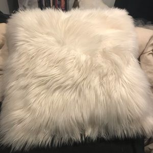 Medium sized Fluffy Throw Pillow
